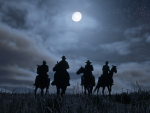 Posse in the moonlight