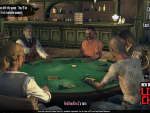 Marshal Johnson splashes in Multiplayer Poker