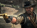 Marston with Golden Gun
