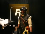 RDR fan dressed as John Marston at NY Comic Con