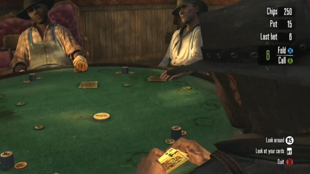 Red dead redemption easy way win poker blackwater