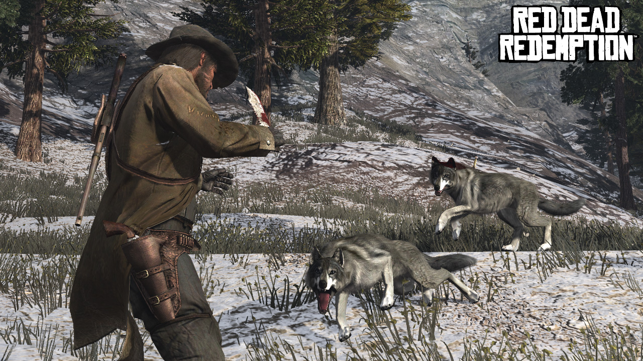 red dead redemption where to find wolves