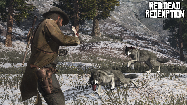 Two wolves, one Marston