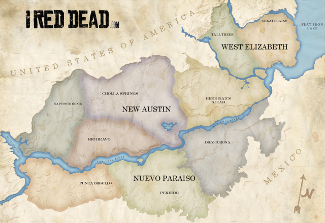 Map of RDR (unofficial)