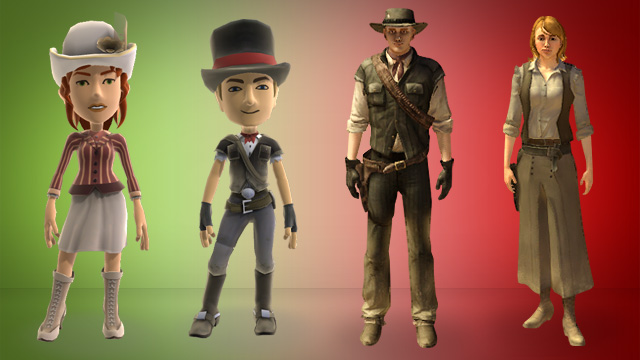 PlayStation Home and Xbox LIVE Avatars