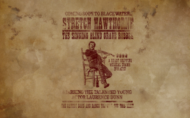 Stretch Hawthorne - The Singing Blind Grave Robber