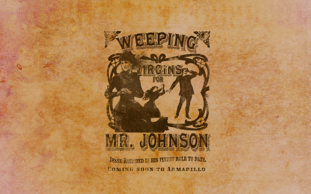 Weeping Virgins for Mr. Johnson