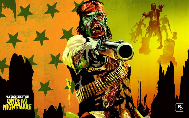 Undead Nightmare John Marston Red Dead Redemption
