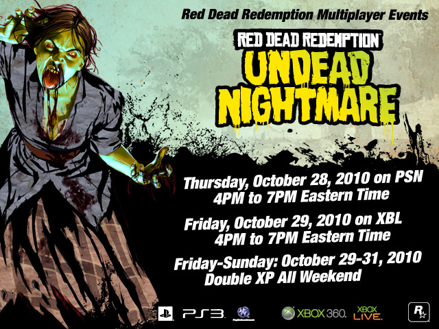 Undead Weekend Flyer