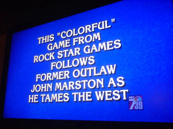 Red Dead Jeopardy