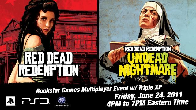 Rockstar Event Details: RDR on PS3 June 24 - Red Dead Redemption